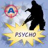 PSYCHO - zážitkový střelecký balíček