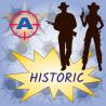 HISTORIC - zážitkový střelecký balíček