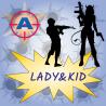 LADY&KID - zážitkový střelecký balíček